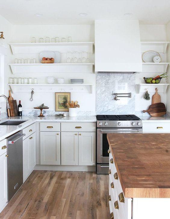 Inspiring Neutral Kitchen Design Ideas 09