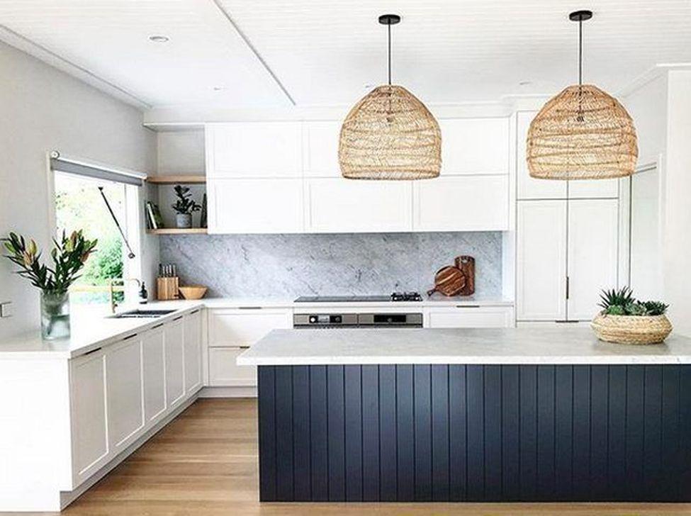 Inspiring Neutral Kitchen Design Ideas 14