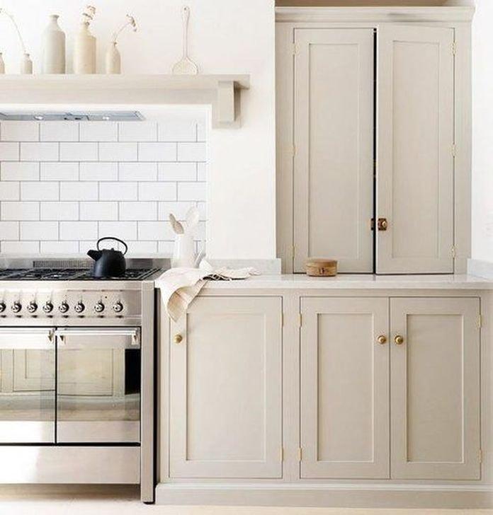 Inspiring Neutral Kitchen Design Ideas 22