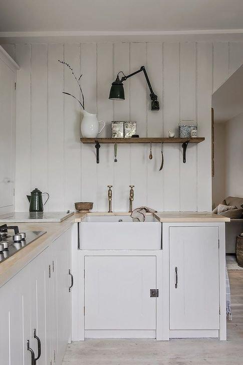 Inspiring Neutral Kitchen Design Ideas 26