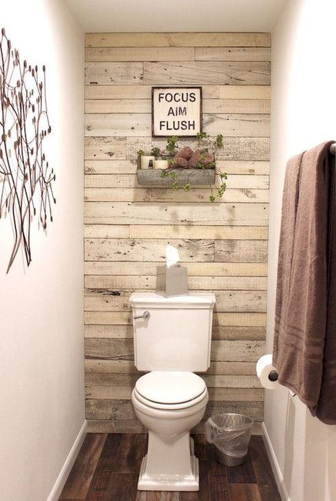 Inspiring Rustic Farmhouse Bathroom Decorating Ideas 07