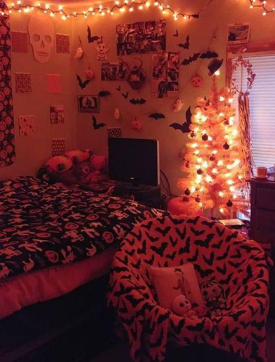 Lovely Fall Bedroom Decor Ideas 14