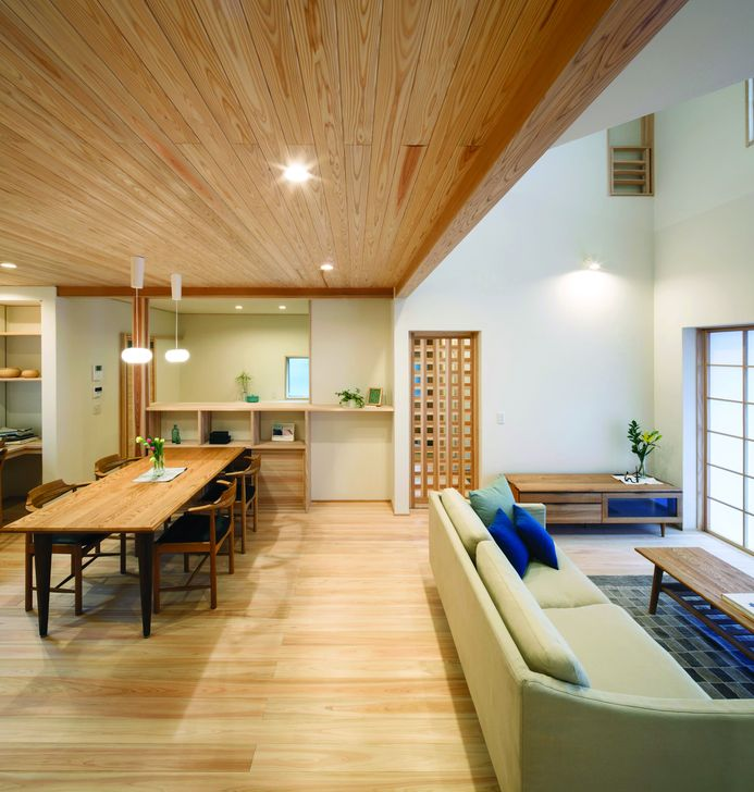 Lovely Japanese Living Room Decor Ideas 05