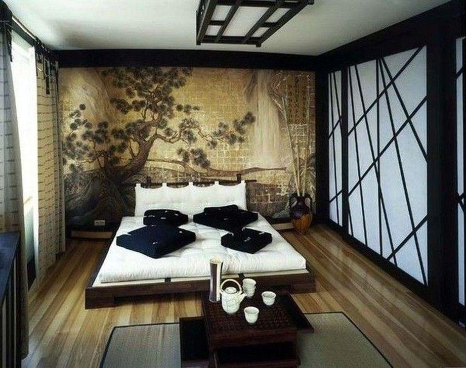 Lovely Japanese Living Room Decor Ideas 06