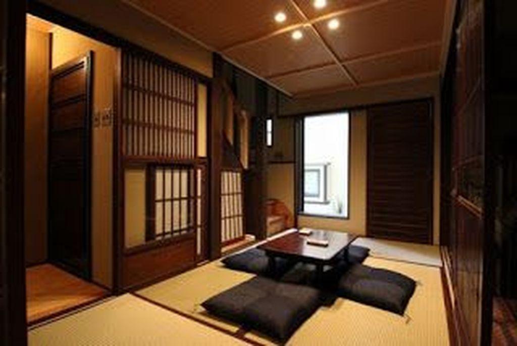 Lovely Japanese Living Room Decor Ideas 15