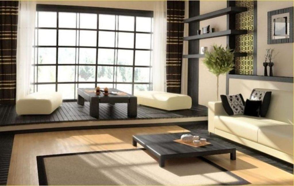 Lovely Japanese Living Room Decor Ideas 19