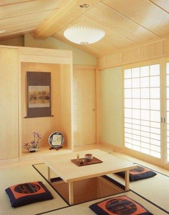 Lovely Japanese Living Room Decor Ideas 24