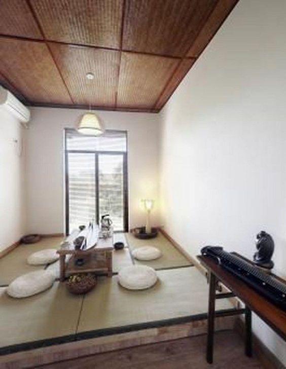 Lovely Japanese Living Room Decor Ideas 31