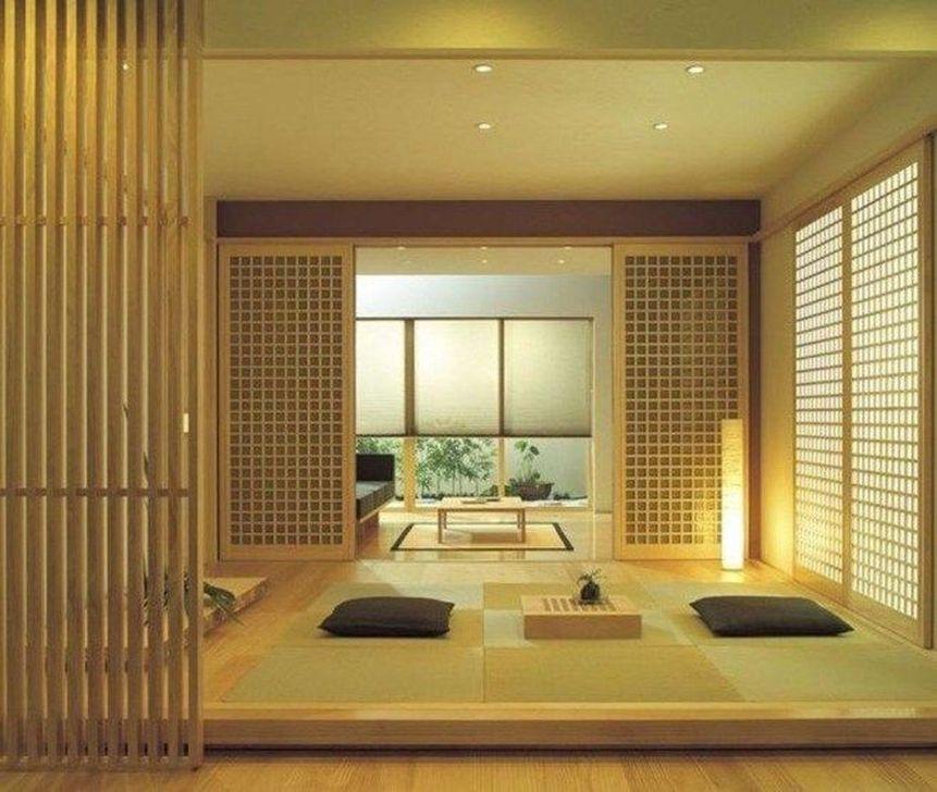 Lovely Japanese Living Room Decor Ideas 32