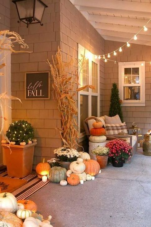 The Best Fall Outdoor Decor Ideas You Will Like 03