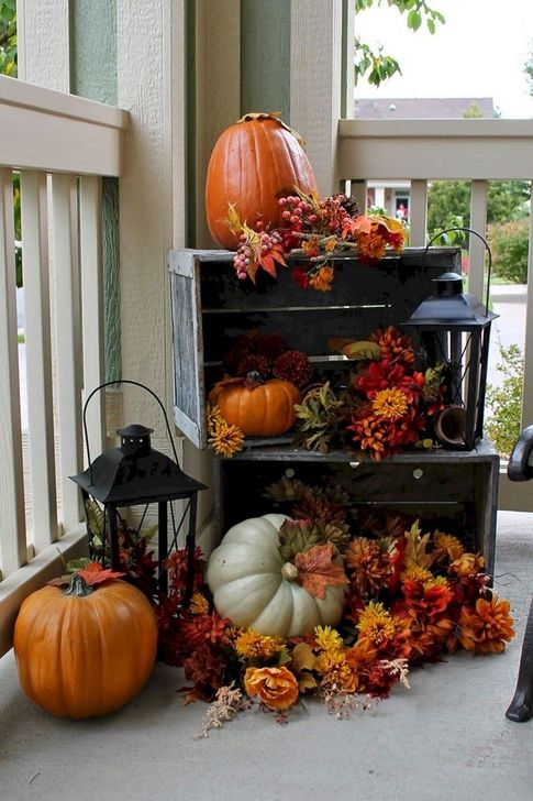 The Best Fall Outdoor Decor Ideas You Will Like 14