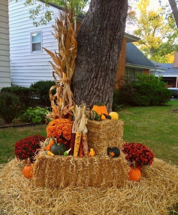 The Best Fall Outdoor Decor Ideas You Will Like 35