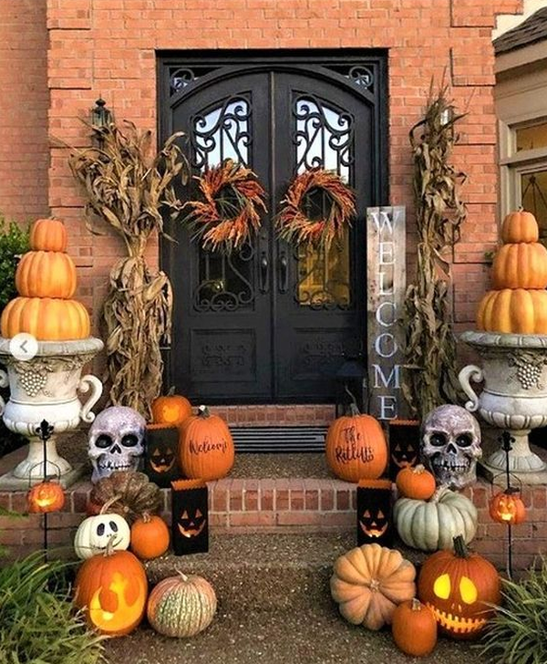 The Best Fall Outdoor Decor Ideas You Will Like 37