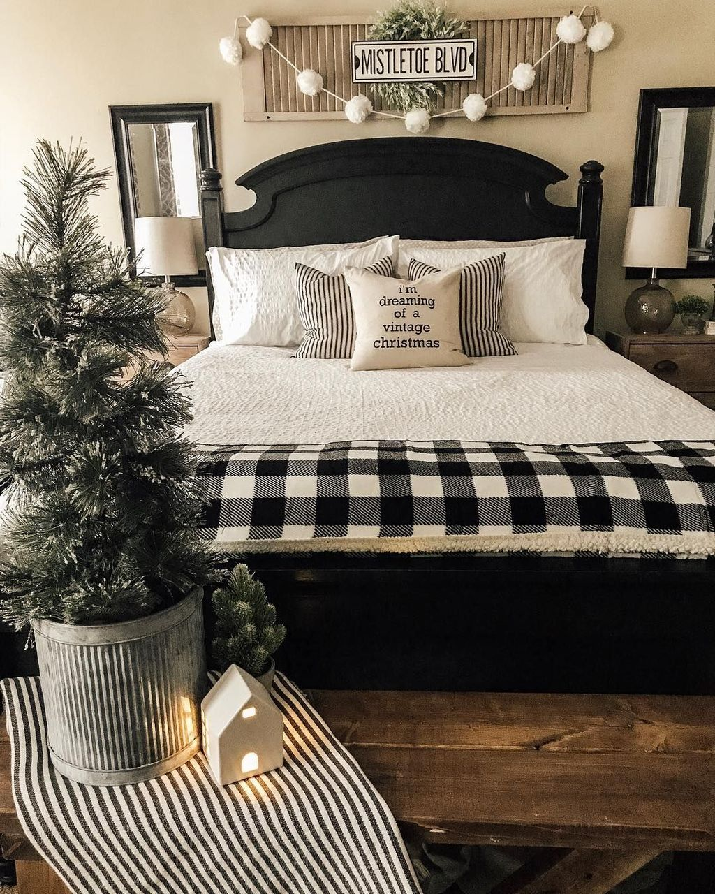 Beautiful Winter Bedroom Decor Ideas 17