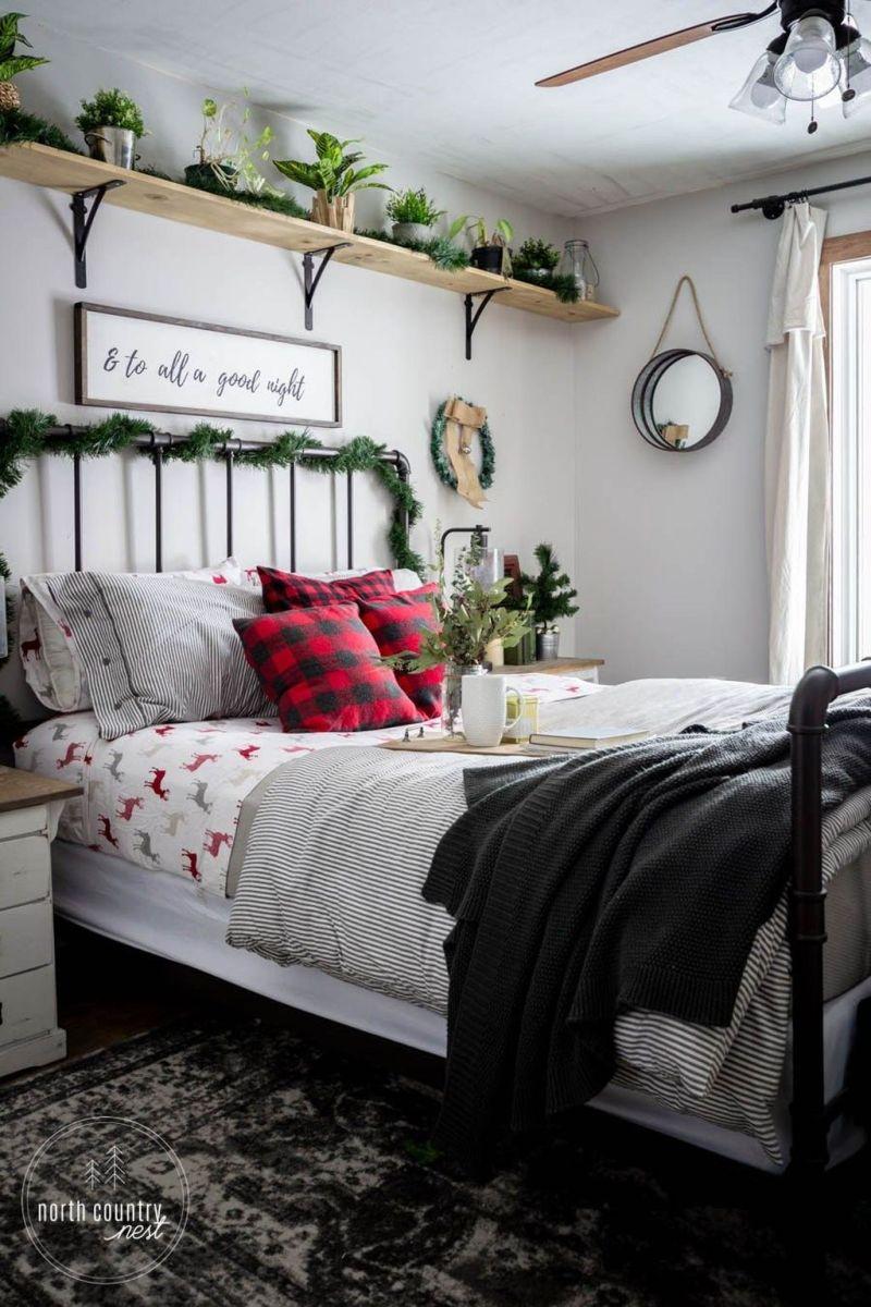 Beautiful Winter Bedroom Decor Ideas 18