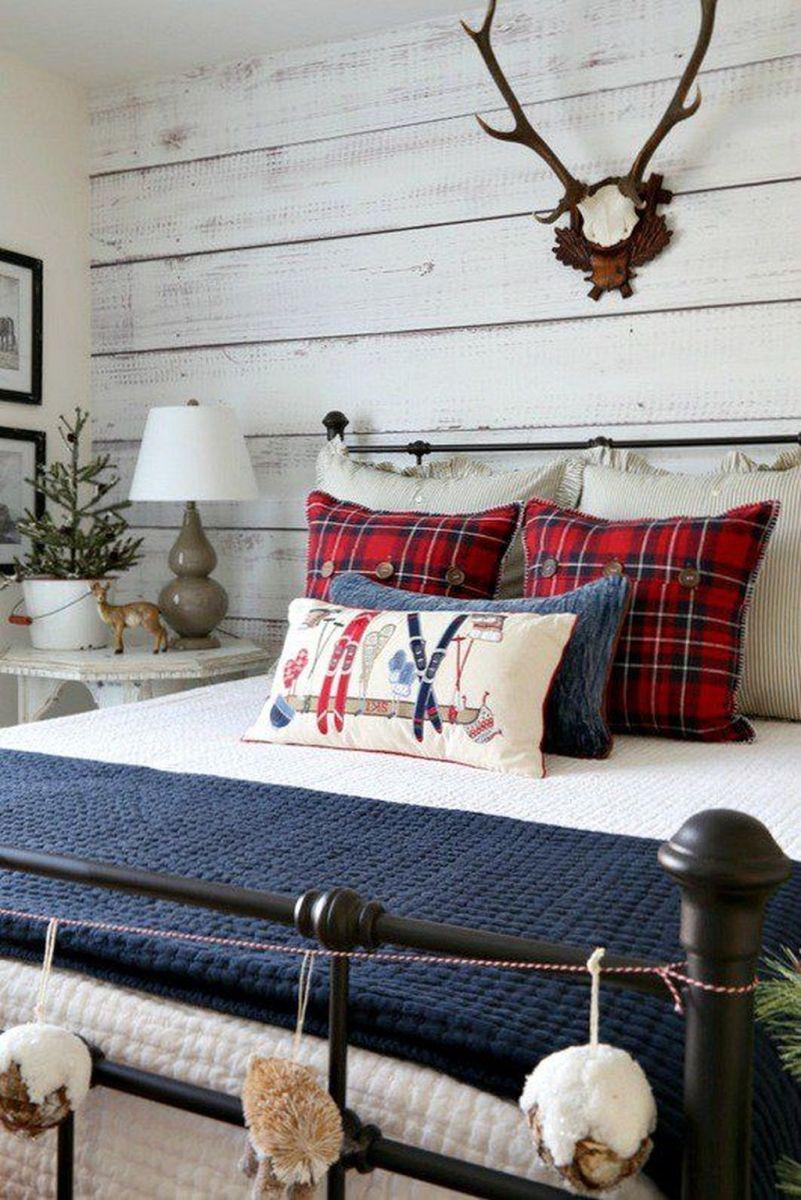 Beautiful Winter Bedroom Decor Ideas 22