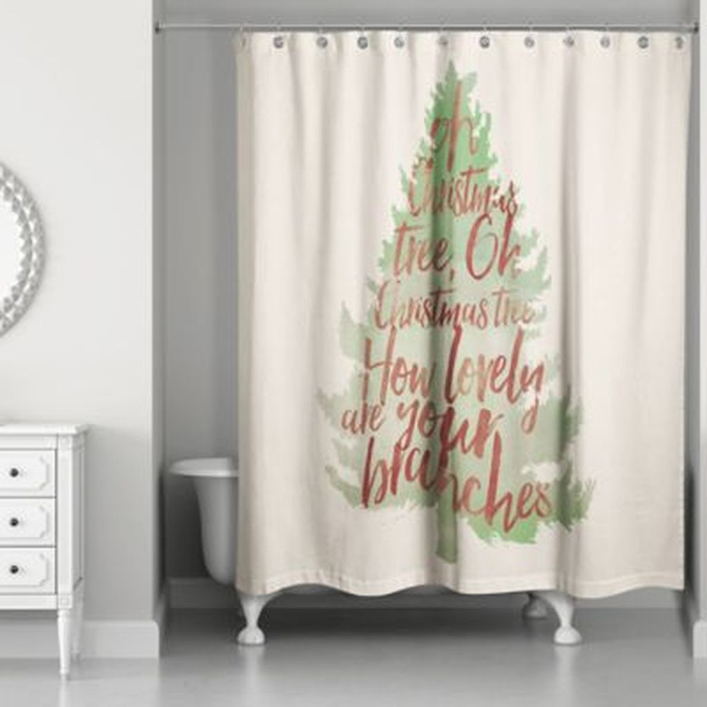 Fabulous Christmas Theme Bathroom Decor Ideas Trend 2019 06