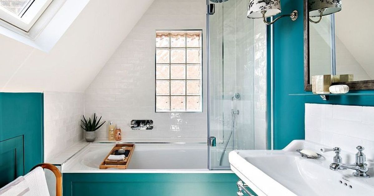 Lovely Winter Bathroom Colors 10