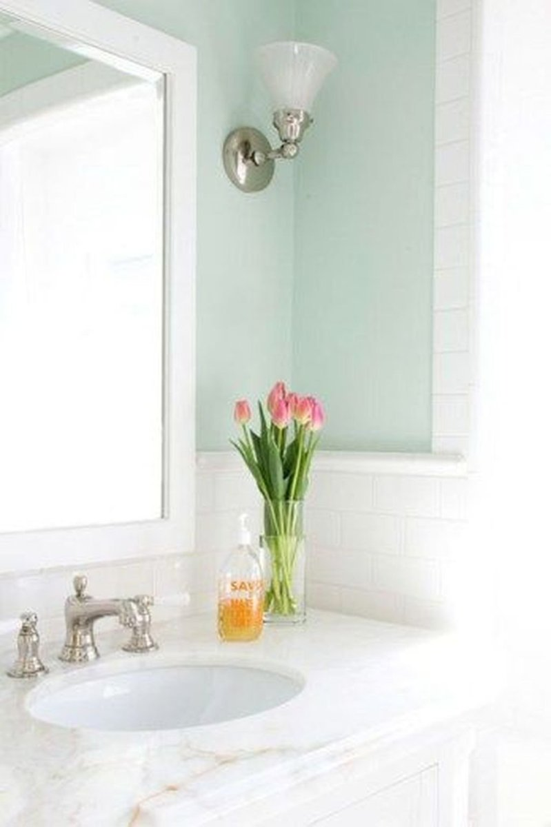 Lovely Winter Bathroom Colors 12