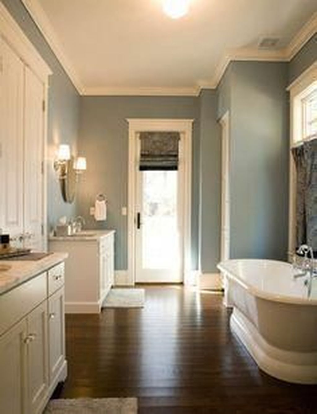 Lovely Winter Bathroom Colors 15