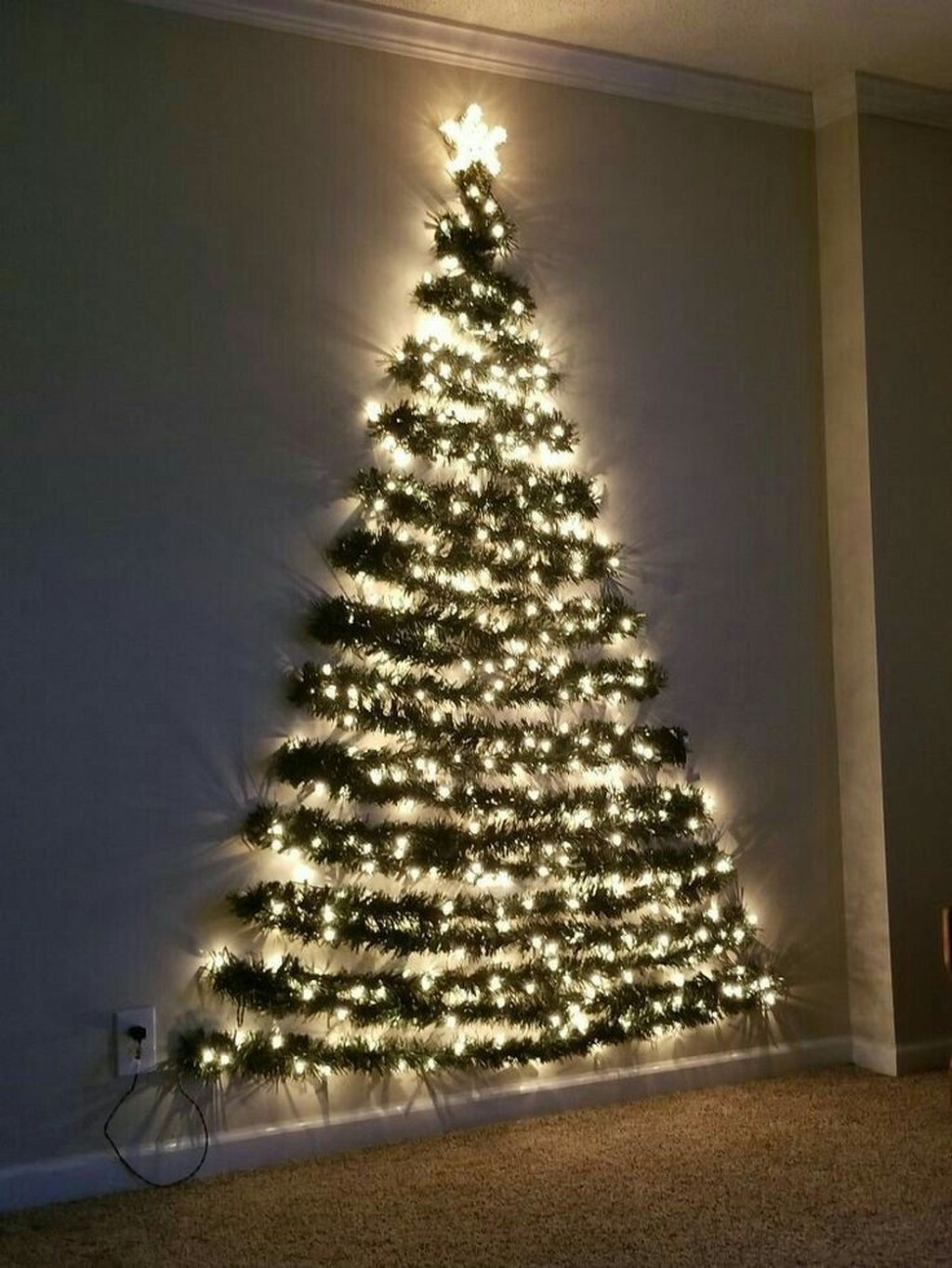 Nice Christmas Decoration Ideas For Apartment 07