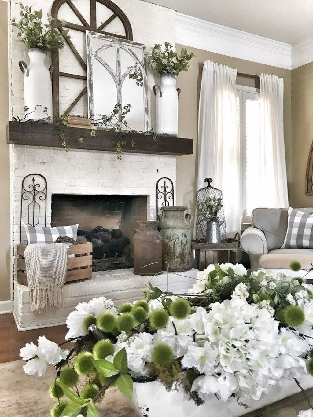 Stunning Fireplace Mantel Decor Ideas You Should Copy Now 08