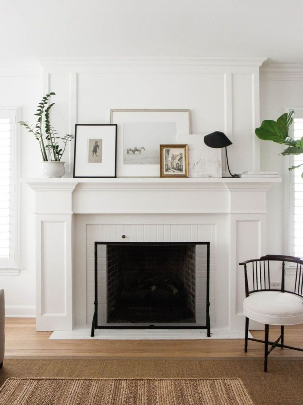 Stunning Fireplace Mantel Decor Ideas You Should Copy Now 21