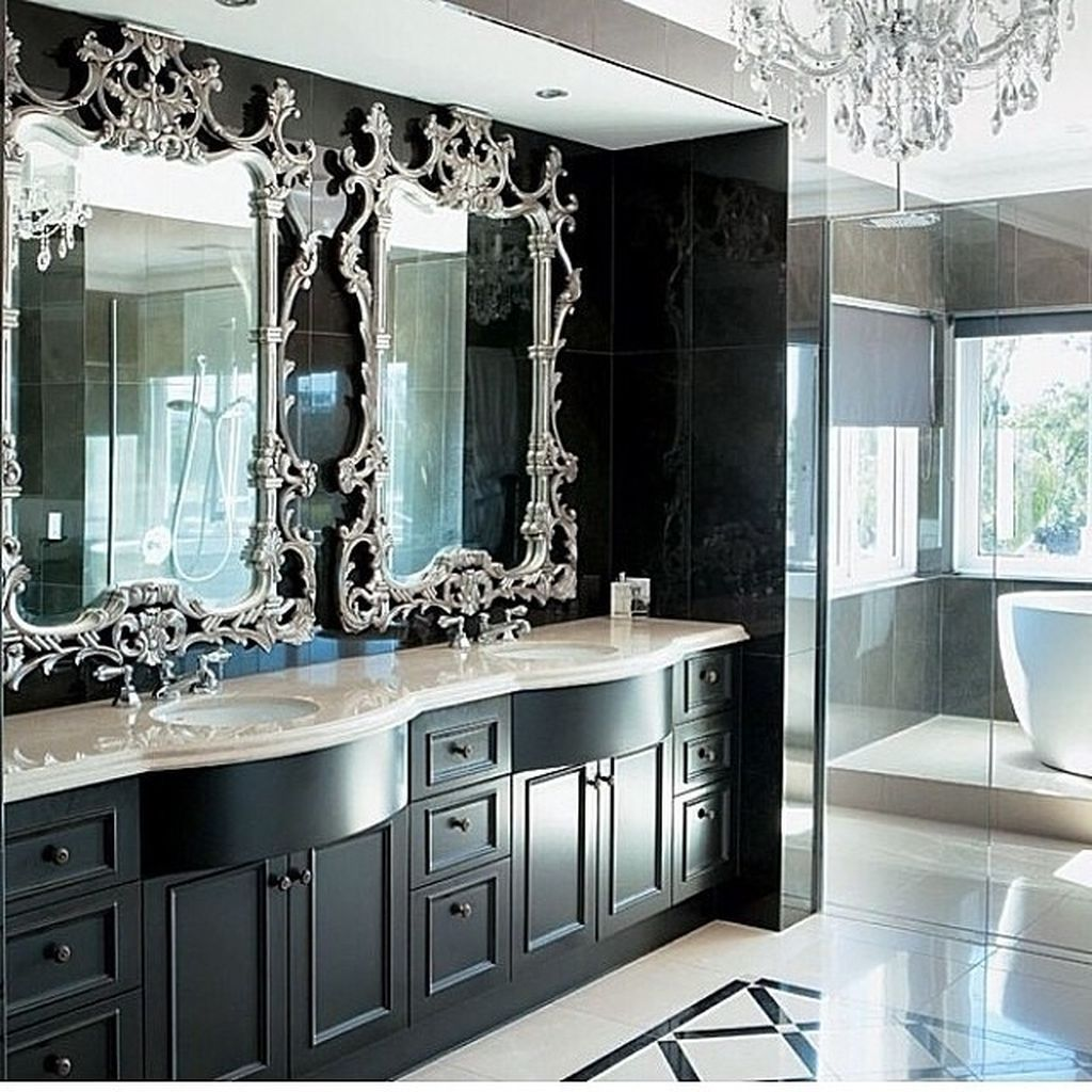 Stunning Winter Bathroom Decor Ideas 26