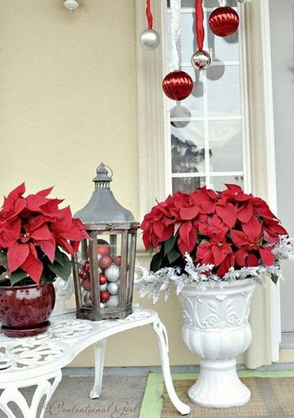 The Best Christmas Lanterns Outdoor Ideas Best For Front Porches 32