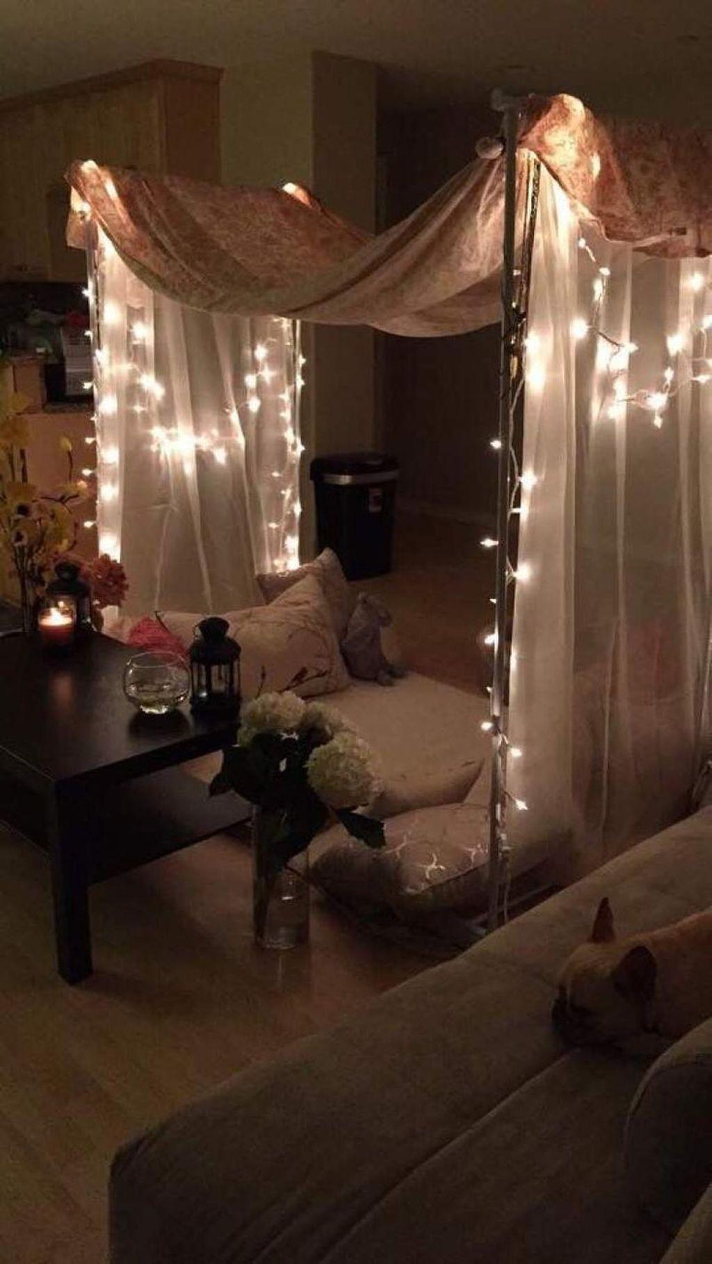 Gorgeous Romantic Valentine Bedroom Decoration Ideas 30