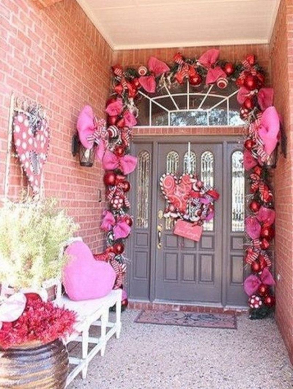 Inspiring Outdoor Valentine Decor Ideas That You Definitely Like 10