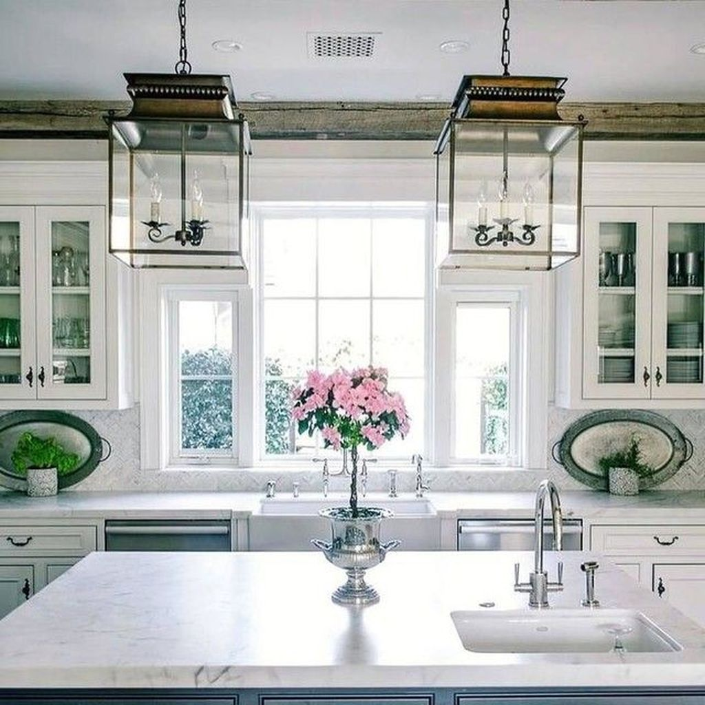 Lovely Romantic Kitchen Decorating Ideas 30