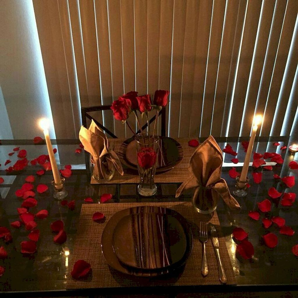 Lovely Romantic Table Setting For Two Best Valentines Day Ideas 16