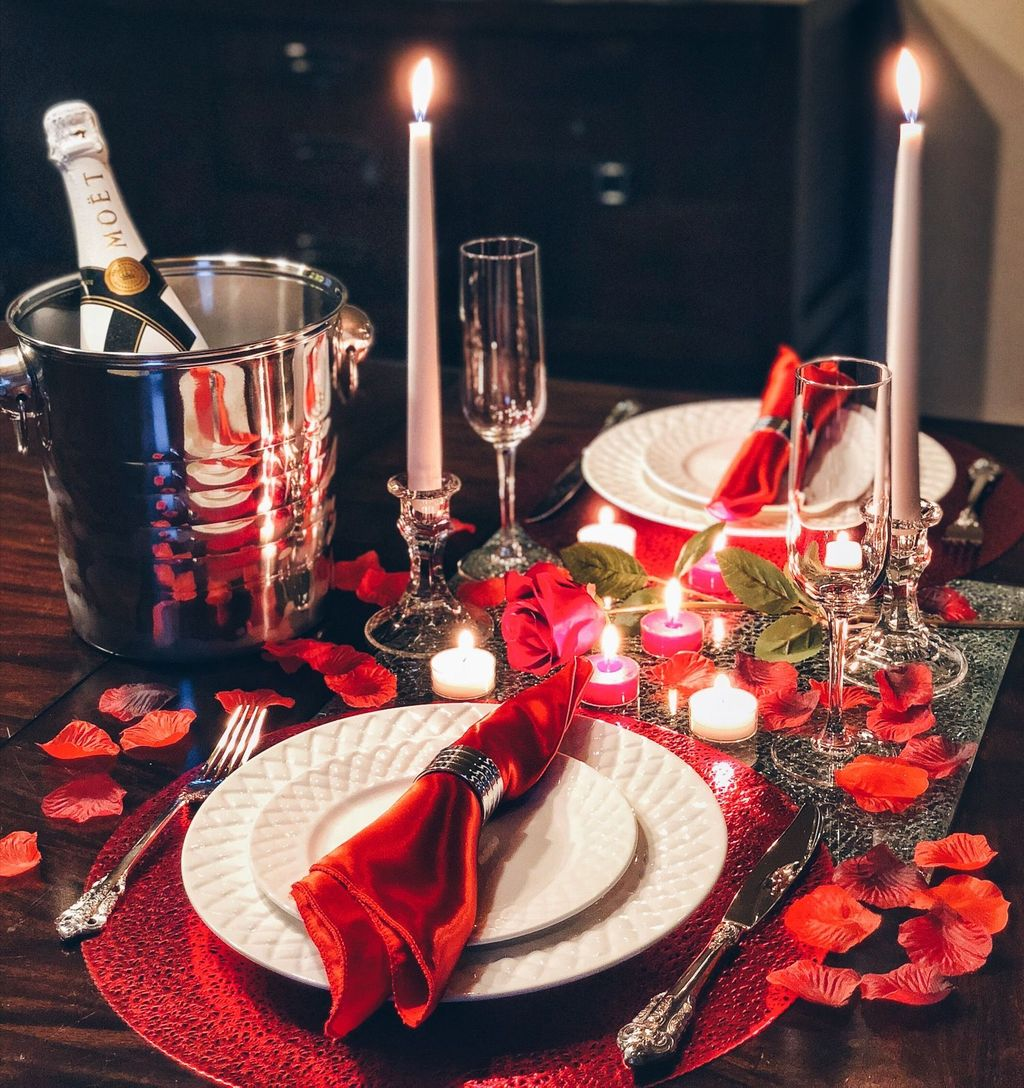 Lovely Romantic Table Setting For Two Best Valentines Day Ideas 35