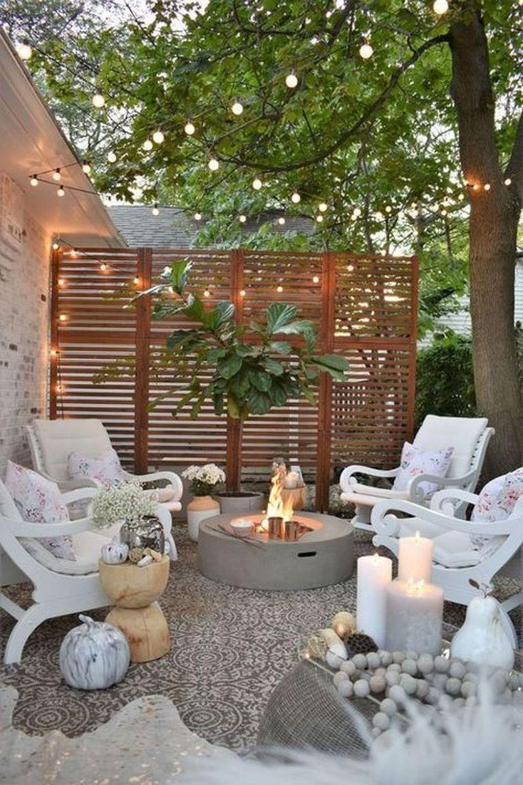 The Best Romantic Backyard Decorating Ideas 07