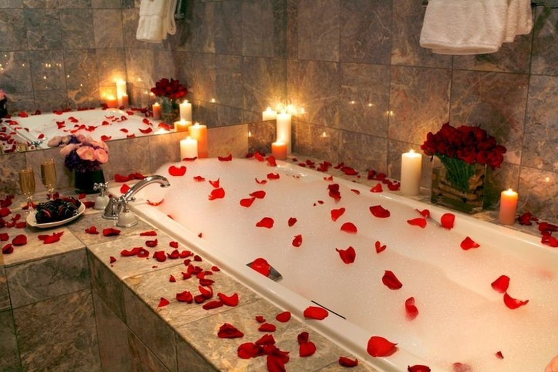 The Best Romantic Bathroom Ideas Perfect For Valentines Day 16