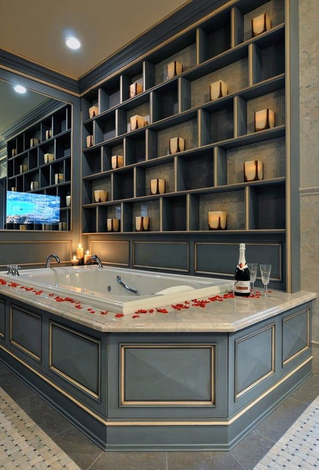 The Best Romantic Bathroom Ideas Perfect For Valentines Day 38