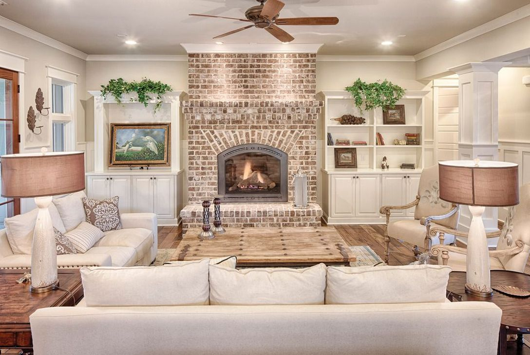 Beautiful Modern Farmhouse Fireplace Ideas You Must Have 07