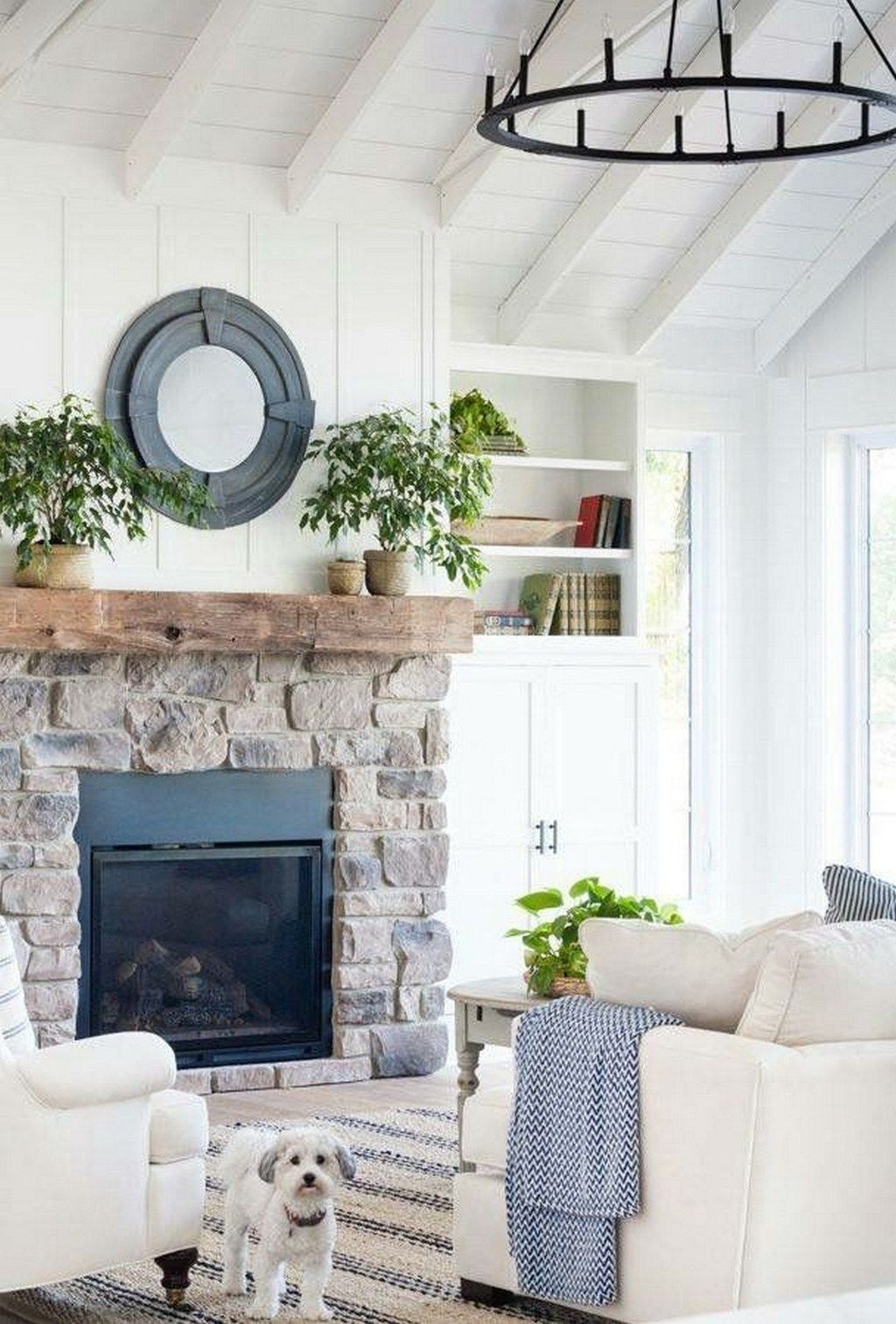 Beautiful Modern Farmhouse Fireplace Ideas You Must Have 12