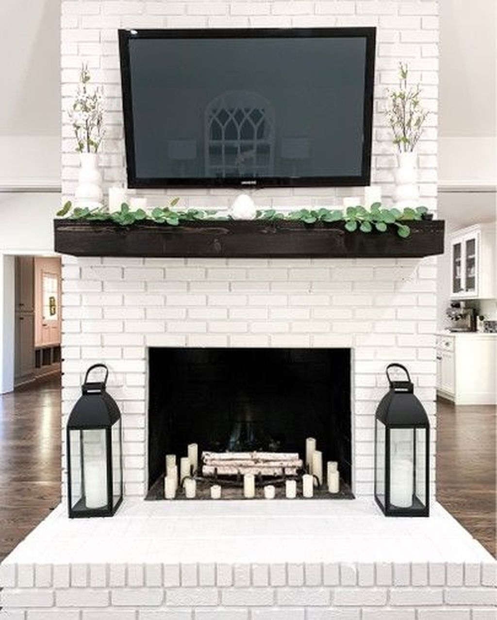 Beautiful Modern Farmhouse Fireplace Ideas You Must Have 20