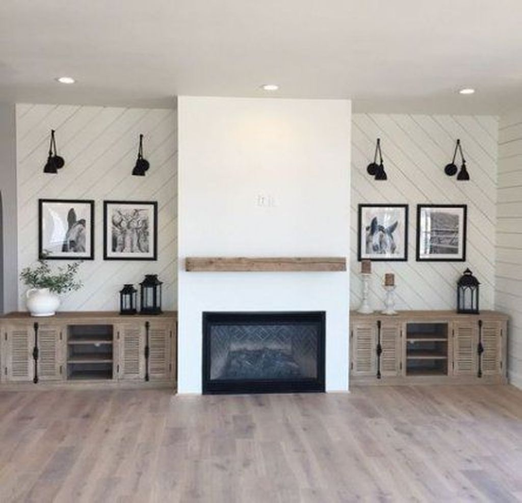 Beautiful Modern Farmhouse Fireplace Ideas You Must Have 23