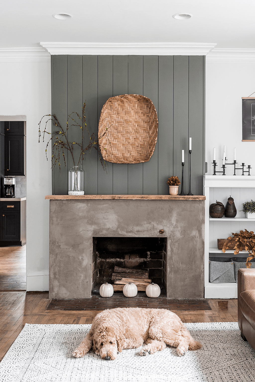 Beautiful Modern Farmhouse Fireplace Ideas You Must Have 36