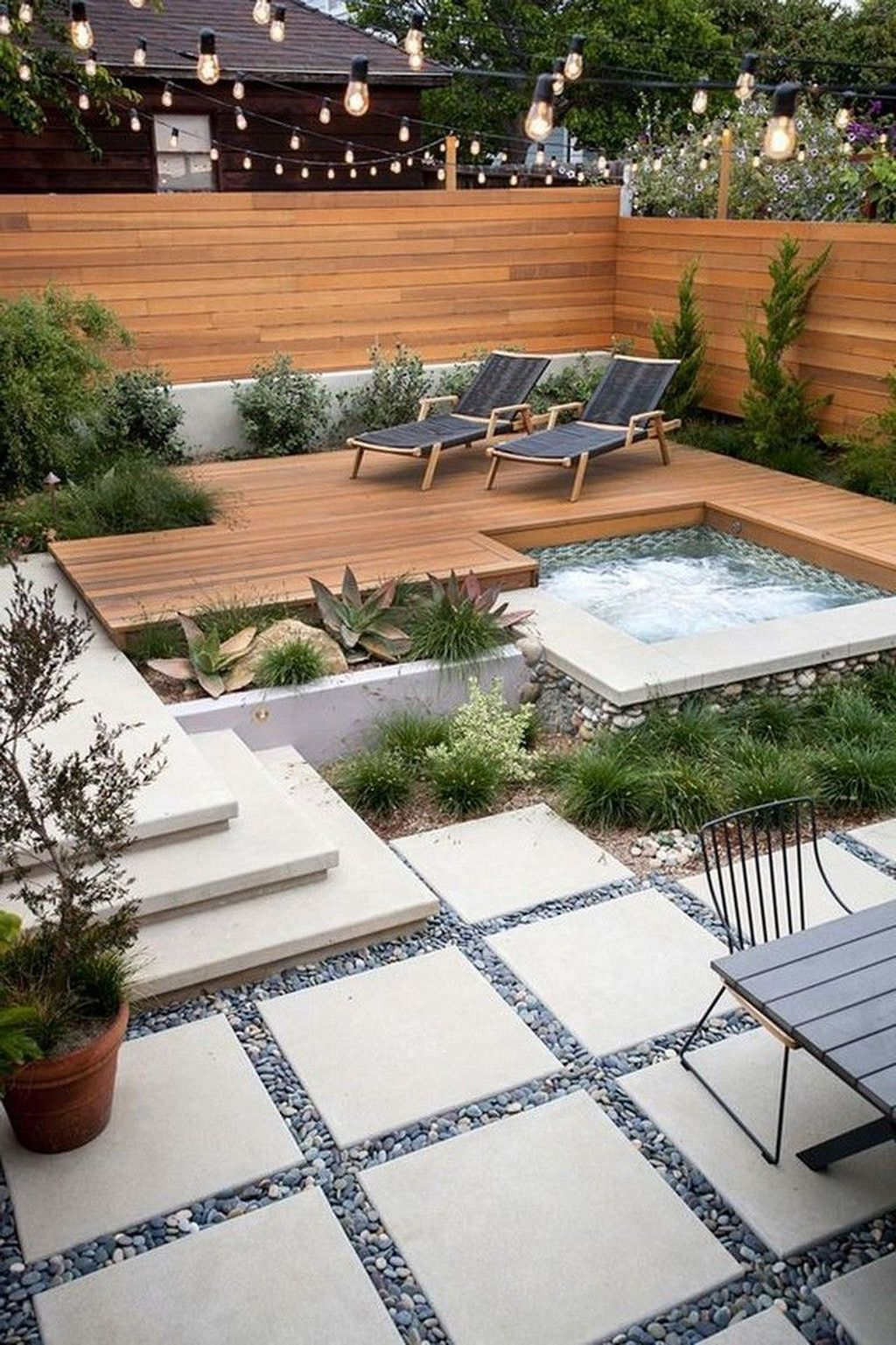 Beautiful Small Pool Backyard Landscaping Ideas Best For Spring And Summertime 06