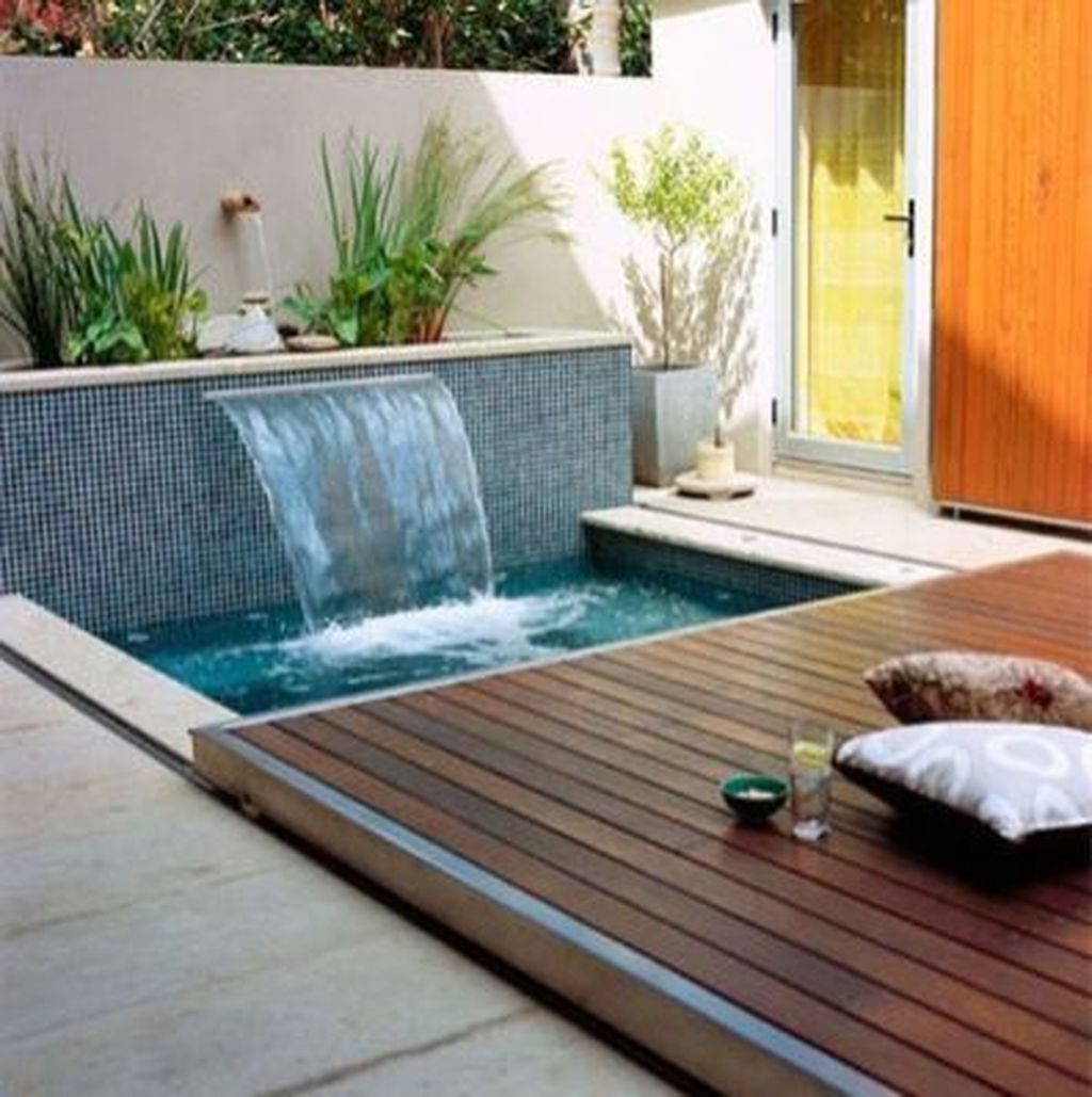 Beautiful Small Pool Backyard Landscaping Ideas Best For Spring And Summertime 08