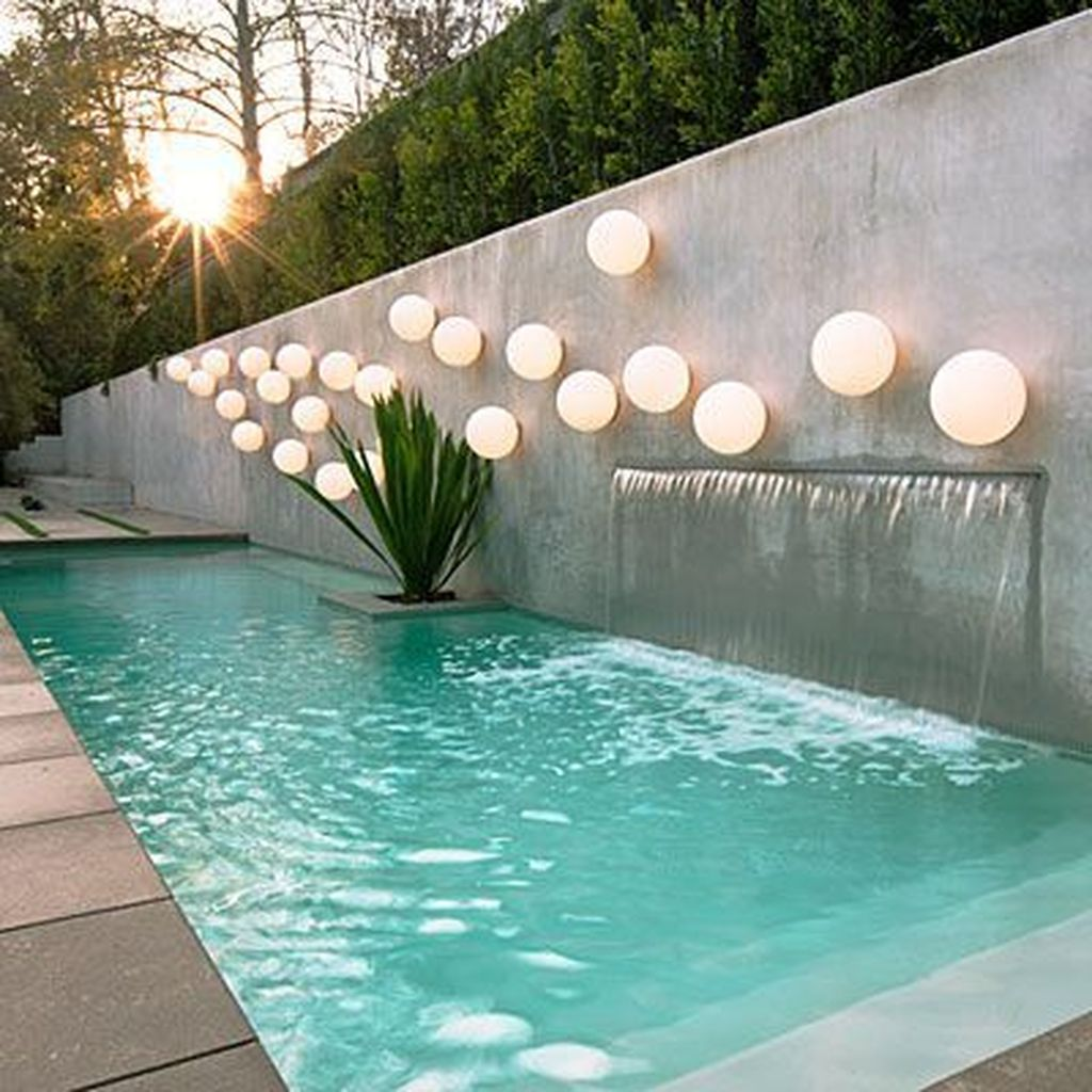 Beautiful Small Pool Backyard Landscaping Ideas Best For Spring And Summertime 10
