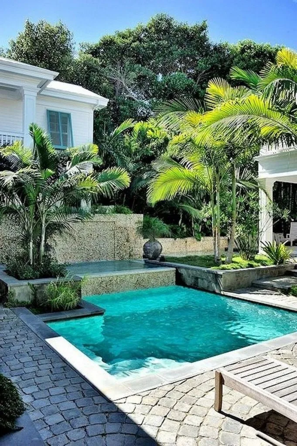Beautiful Small Pool Backyard Landscaping Ideas Best For Spring And Summertime 11