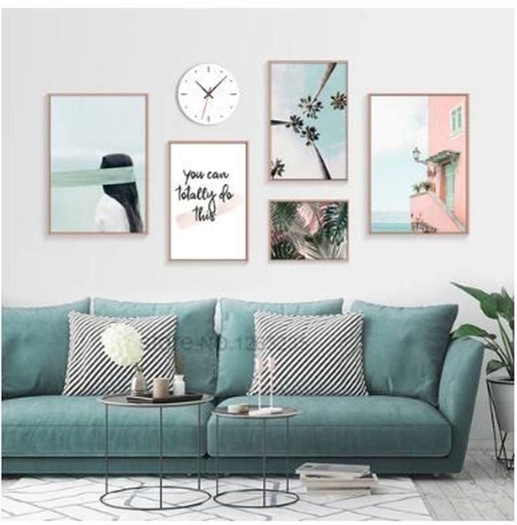 Inspiring Nautical Wall Decor Ideas For Living Room 03