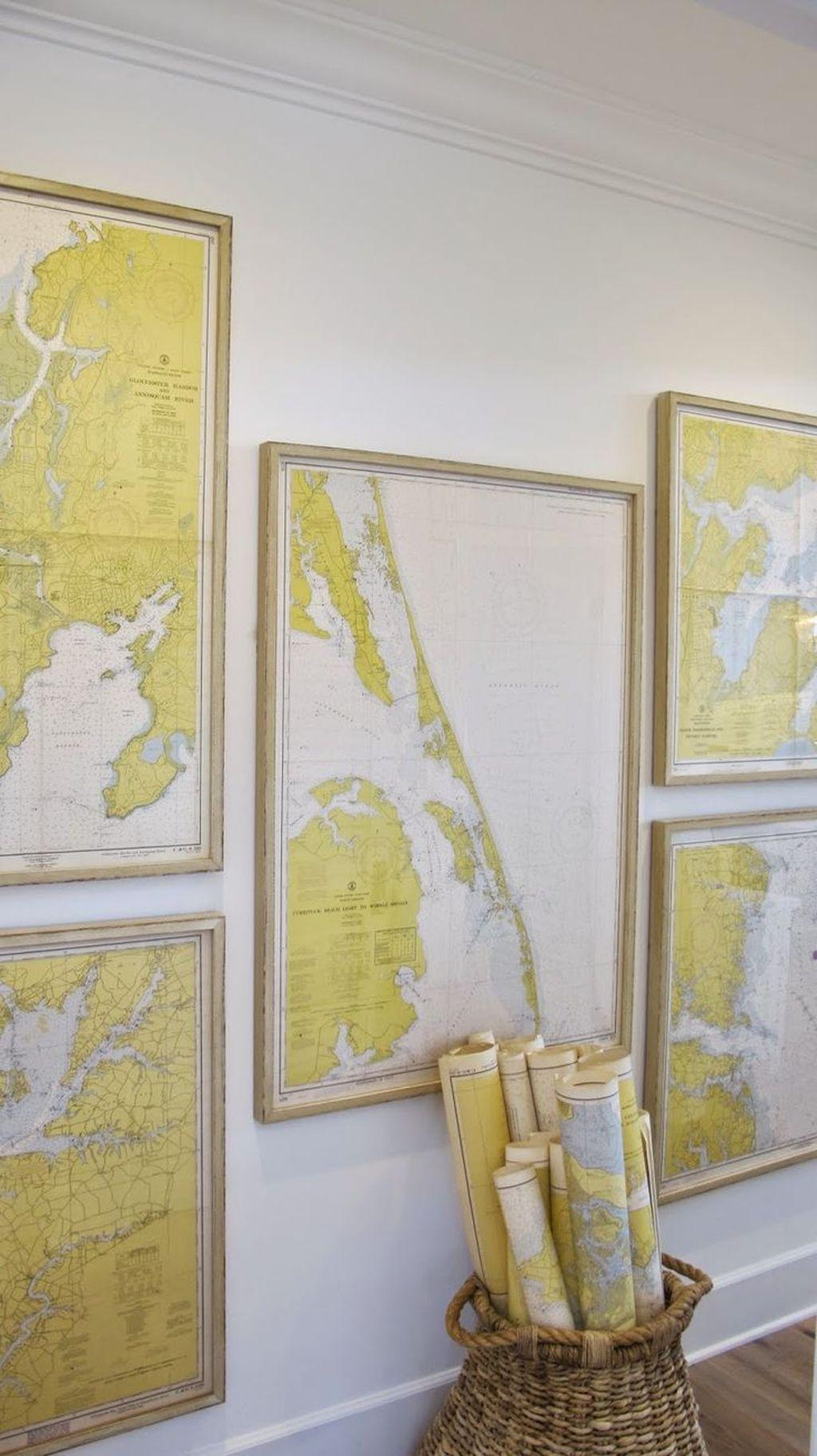 Inspiring Nautical Wall Decor Ideas For Living Room 08