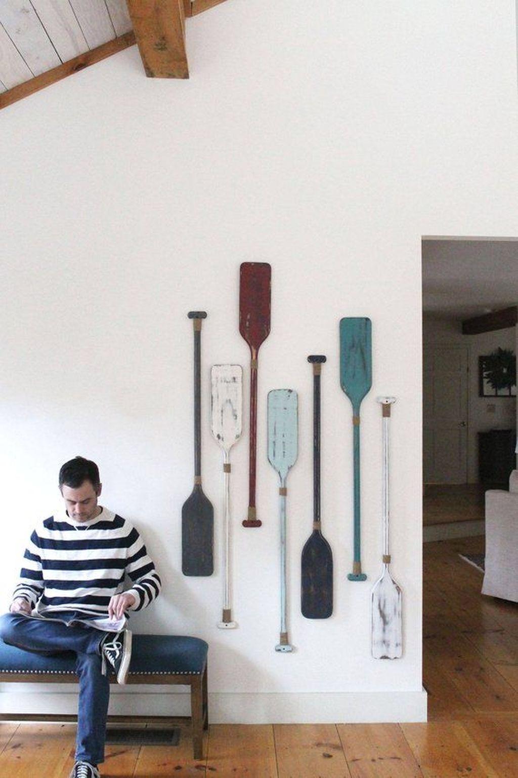 Inspiring Nautical Wall Decor Ideas For Living Room 14