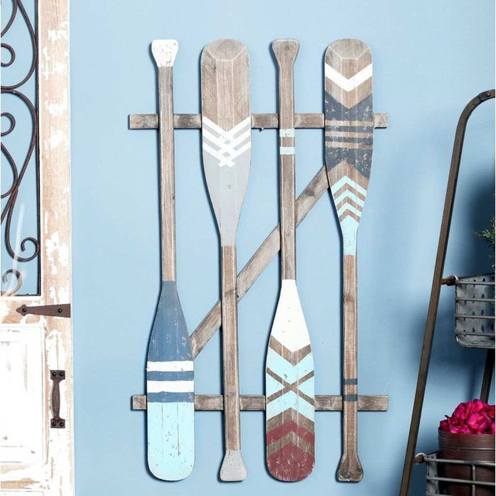 Inspiring Nautical Wall Decor Ideas For Living Room 22